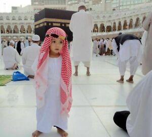 Childs Kids Boys Shemagh Scarf Igal Set Pack Set Arabic Nativity Boys Dress New