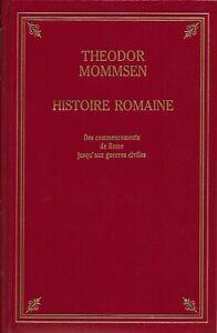 histoire romaine tome 1 Theodor MOMMSEN