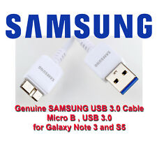 Genuine Samsung Galaxy S5 Note 3 Data Charge Sync USB 3.0 Cable Cord ET-DQ10Y0WE