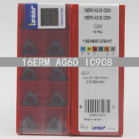 ISCAR 16ERM AG60 IC908 Threaded blade Carbide Inserts 10Pcs