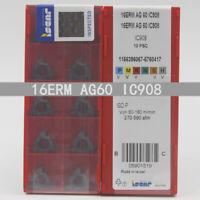 ISCAR 16ERM AG60 IC908 Threaded blade Carbide Inserts 10Pcs