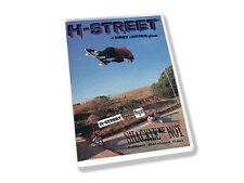 H STREET SHACKLE ME NOT DVD SKATE VIDEO NEW 1988 SKATEBOARD 80 OLD SKOOL HENSLEY