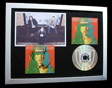 GOO GOO DOLLS+SIGNED+FRAMED+MAGNETIC+IRIS=100% AUTHENTIC+EXPRESS GLOBAL SHIP!!
