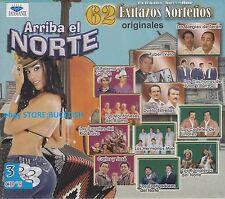 Ruben Vela,Los Alegres de Teran,Carlos Y Jose ARRIBA EL NORTE 3CD NEW SEALED