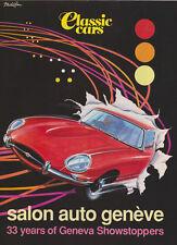 Salon Auto Geneve - Classic Cars Sup 1994 - Jaguar E-Type, 917, C111, 288 GTO