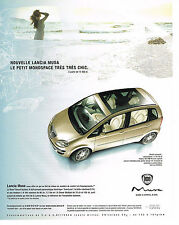 PUBLICITE ADVERTISING  2004   LANCIA  MUSA  monospace