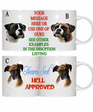 BOXER DOG PESONALISED/FUNNY/OWN PHOTO MUG