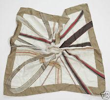 Neu Coccinelle Seide Tuch Schal Halstuch Scarf 65cm x 65cm 1-15 (75) #123