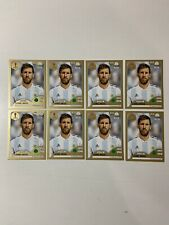 8 Lot Lionel MESSI Sticker # 288 Panini Russia World cup GOLDSwiss invest HOT🔥