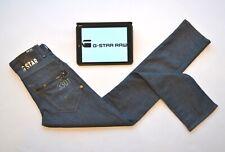 GSTAR G-STAR RAW 3301 Mens Jeans Mid Blue Slim Fit Skinny W26 L30