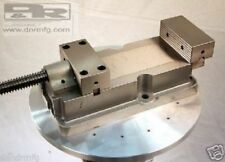 New Kr Machine Vise No Lift Jaws For Manual Milling Amp Cnc Mill Heavy Duty Large
