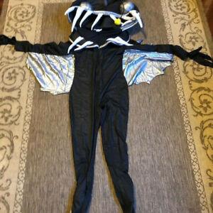 Child Kids Angler Fish Deep Sea Monster Horror Halloween Fun Costume Size Large