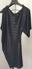 Miss Me Fashion Women Ladies Night Dress Size 10 Black One sleeve