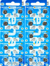 20 pc 373 Renata Watch Batteries SR916SW FREE SHIP 0% MERCURY