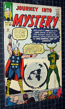Journey Into Mystery #94 early Thor Loki cover by Kirby