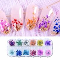 3D Nail Art Stickers Decal Women Nails Tips Natural Flower Decals DIY Sticker