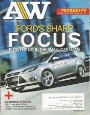 AUTOWEEK 2011 FEB 07 - VW-DAKAR, FOCUS, RAHAL/250GTO, FOOSE, ESCORT RS DROPTOP
