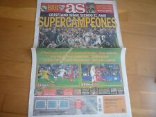 DIARIO AS SUPERCOPA DE EUROPA 2014,REAL MADRID,NUEVO.