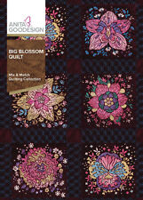 Big Blossom Quilt Anita Goodesign Embroidery Design Machine CD