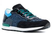 Pollini Midnight Glitter Sneakers Low Tops - Originally $220