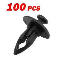 100x Nylon Bumper Fender Fascia Fastener Rivet Retainer Fastener Clip for GM GMC