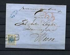 Österreich Reko Brief TRIEST RECOMMANDIERT  1858     (#259)