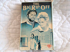 THE BIG RIP-OFF VHS BIG BOX DIRTY OUTLAWS ANDREA GIORDANA 60'S SPAGHETTI WESTERN