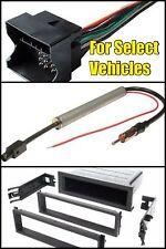 VW Single Din Car Stereo Radio Install Dash Trim Pocket Kit +Wire +Special Anten