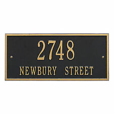 1126dccf527 Whitehall Hartford Address Plaque Marker Sign 17 Color   2 Mount Choices No  Rust