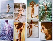 1976 akt foto fkk NACKT nackt 1A busen TEENY frau girl mädchen sexy behaart eros