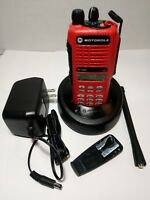 MOTOROLA HT1250 VHF 136-174 MHz Two-Way Radio with Accessories AAH25KDH9AA6AN