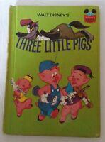 Walt Disney's Three Little Pigs Hardcover Book 1972