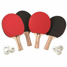 Viper Table Tennis Paddle Ping Pong Rackets - Set of 4