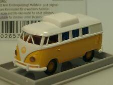 Brekina VW T1 Camper mit geschl. Hubdach, gelb-weiss - 31572 - 1/87