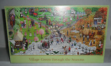 VILLAGE GREEN THROUGH THE SEASONS BY GALE PITT ~ 1000 pce~used, complete