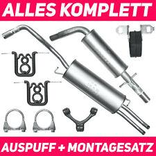 Auspuff Seat Toledo 1.8//1.9 Komplettanlage ab Kat+MONTAGEWARE