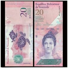 Venezuela 20 Bolivares 29/10/2013 (Gem UNC) 委内瑞拉 20玻利瓦尔 W06252597
