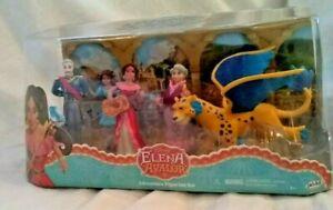 Disney Jr. Princess Elena of Avalor Adventure Figurine Set of 5 Ready to Rule