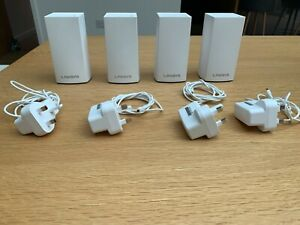 Linksys Velop White Wifi- Booster 4-pack