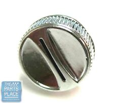 1968-72 Oldsmobile Cutlass / 442 8 Track Outer Chrome Knob