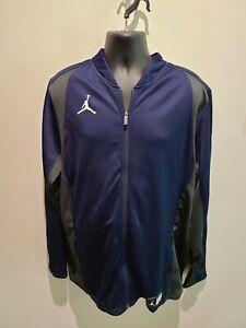 NEW - Jordan Blue Long Sleeve Full Zip Jacket, Men's 2XL Tall. A117