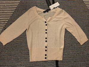 BNWT French Connection Fine knit Cardigan Size M