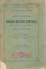 LEZIONI SU STRUTTURA ORGANI NERVOSI CENTRALI UOMO E ANIMALI 1897 Luigi Edinger *