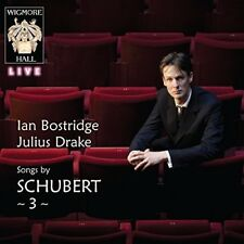 Ian Bostridge - Songs By Schubert, Vol. 3 [New CD]