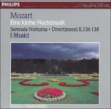 Mozart Eine Kleine Nachtmusik K 525 & Serenata Notturna K 239 & Divertimenti K 1