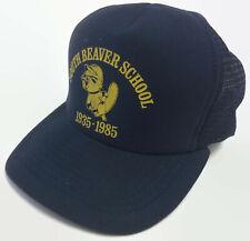 South Beaver School 1935-1985 Flagstaff Arizona Navy Hat Cap Trucker Snapback
