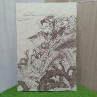 Tokyo Disneyland Splash Mountain Vintage Postcard Critter Country Brer Bear Fox