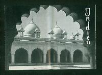Altes Reiseprospekt Indien Nepal Ceylon 1950er Fotos Preise Studienreisen