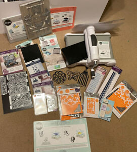 Sizzix big shot Plus machine with lots of Extras