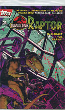 Jurassic Park: Raptor Issue #2 (December 1993, Topps Comics)